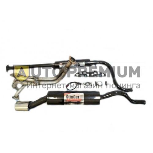 Выпускной комплект ВАЗ 1117-18-19 Калина 8v 1,6л с глушителем